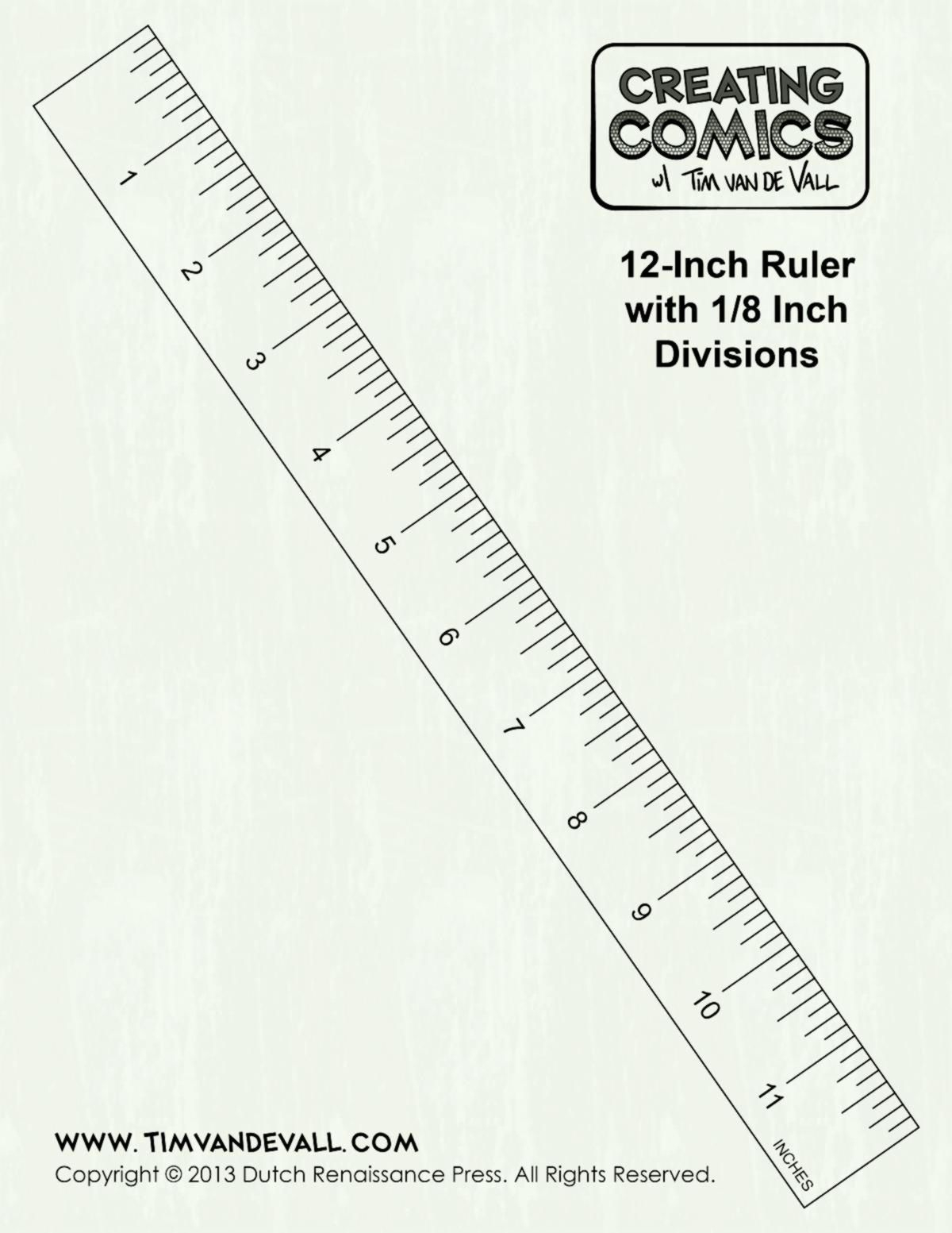 12 Inch Ruler Clipart Black And White | Inch Ruler, Clipart