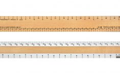 Printable 1 4 Inch Scale Ruler