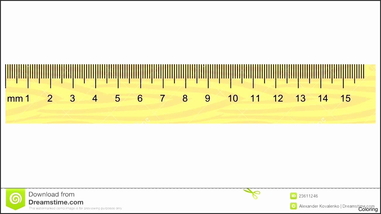 15 Cm Ruler Clipart
