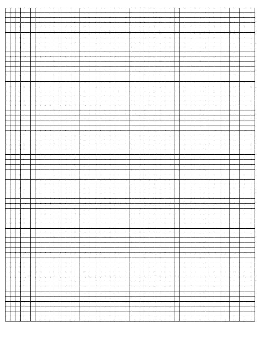 30+ Free Printable Graph Paper Templates (Word, Pdf) ᐅ