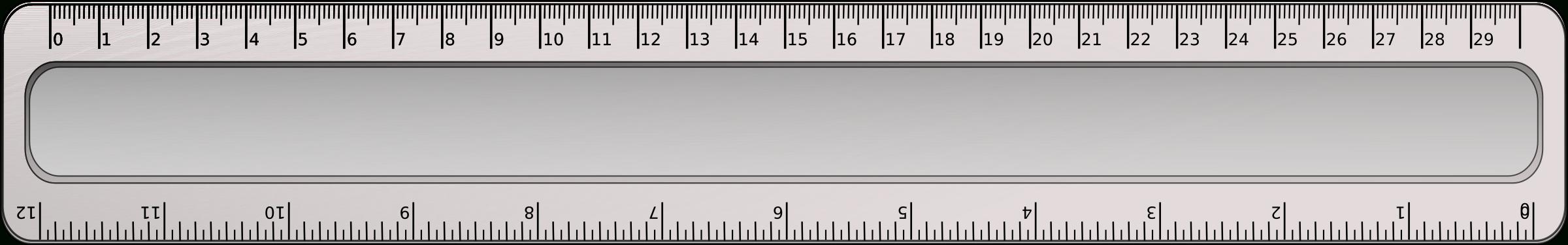 30Cm Ruler Clipart