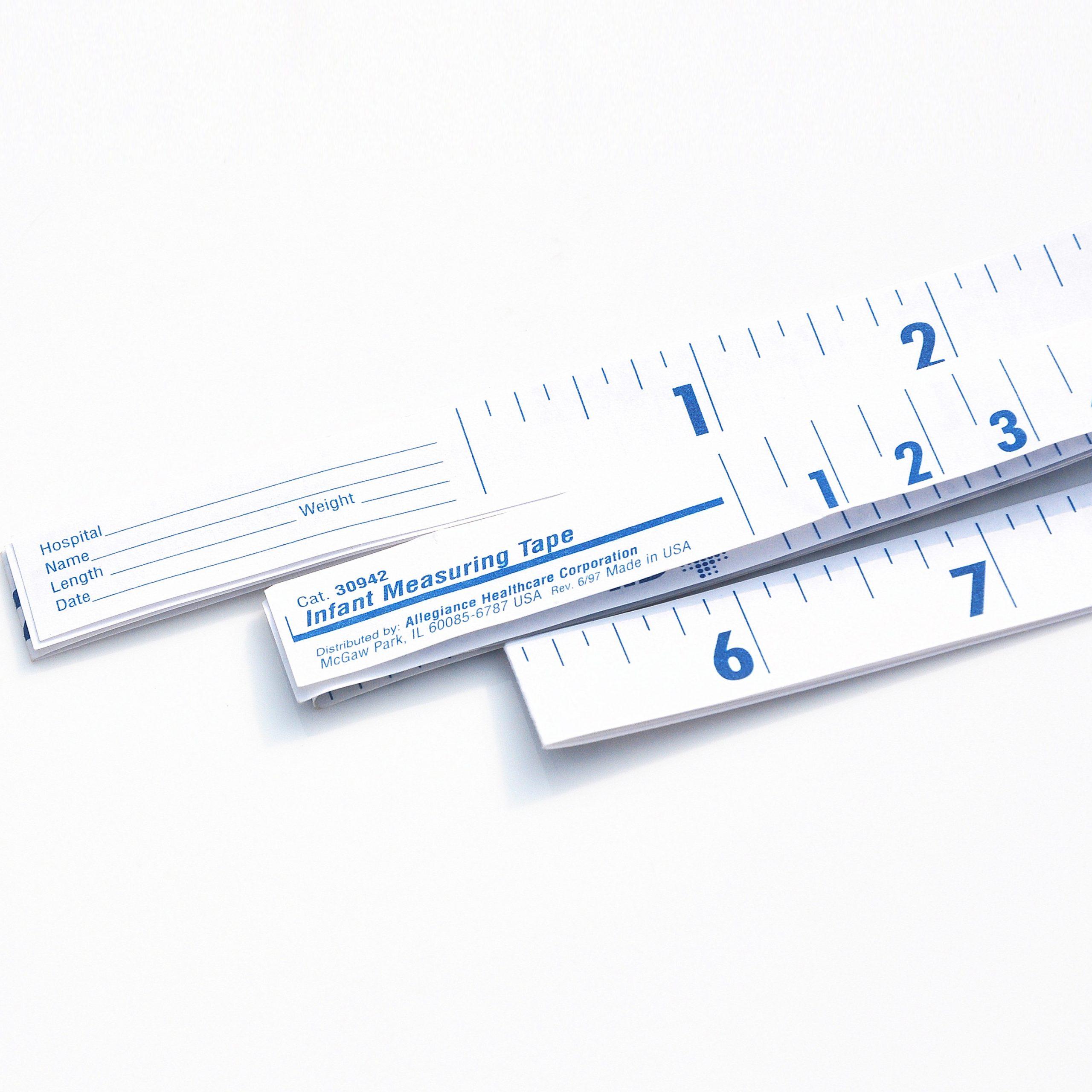 "40"" Medical Tape Measure,1M Medical Ruler,heads Measuring Tape"