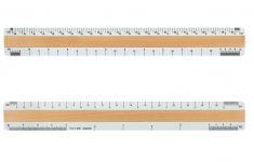 Custom Printable Scale Ruler