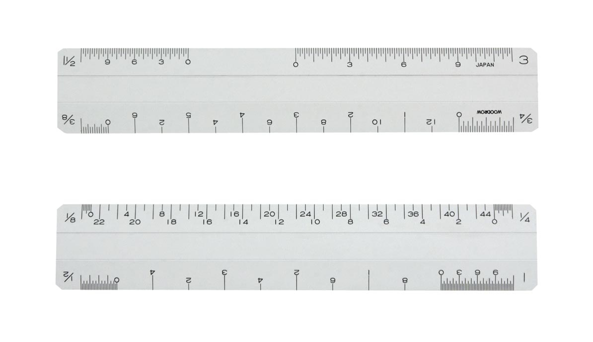 6Pf1 Architechtural Ruler