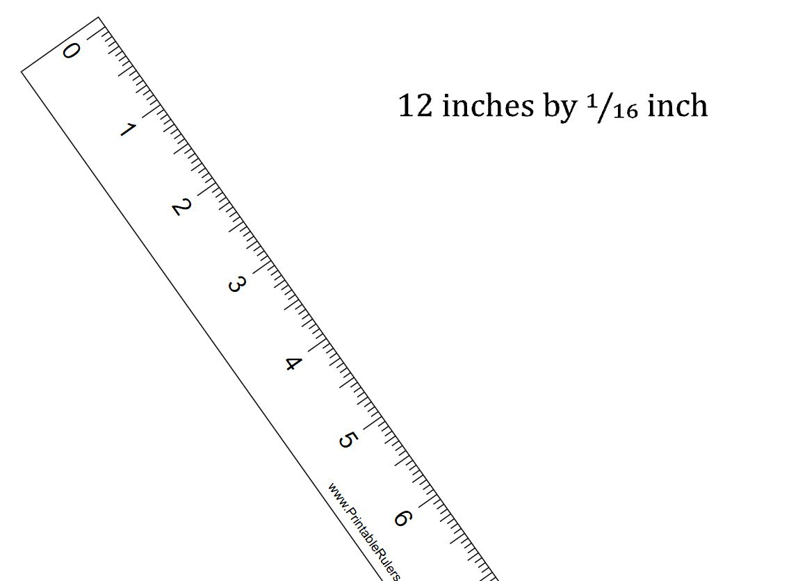 7 Sets Of Free, Printable Rulers When You Need One Fast