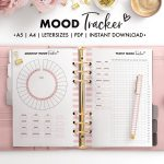 A5 Mood Tracker, Mood Tracker Printable, Monthly Mood Tracker, Yearly Mood  Tracker, Mood Planner, Feelings Tracker, A5 Mood Tracker Planner