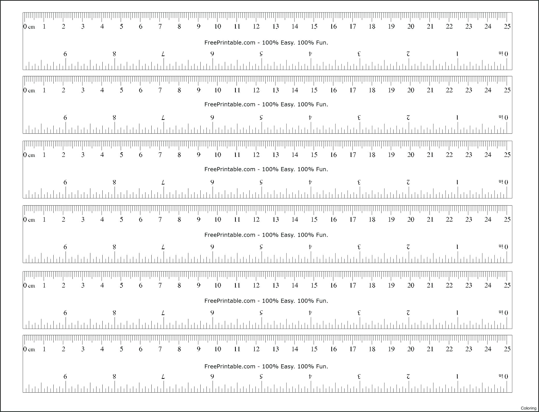 Agile Online Printable Ruler | Gonzalez Blog