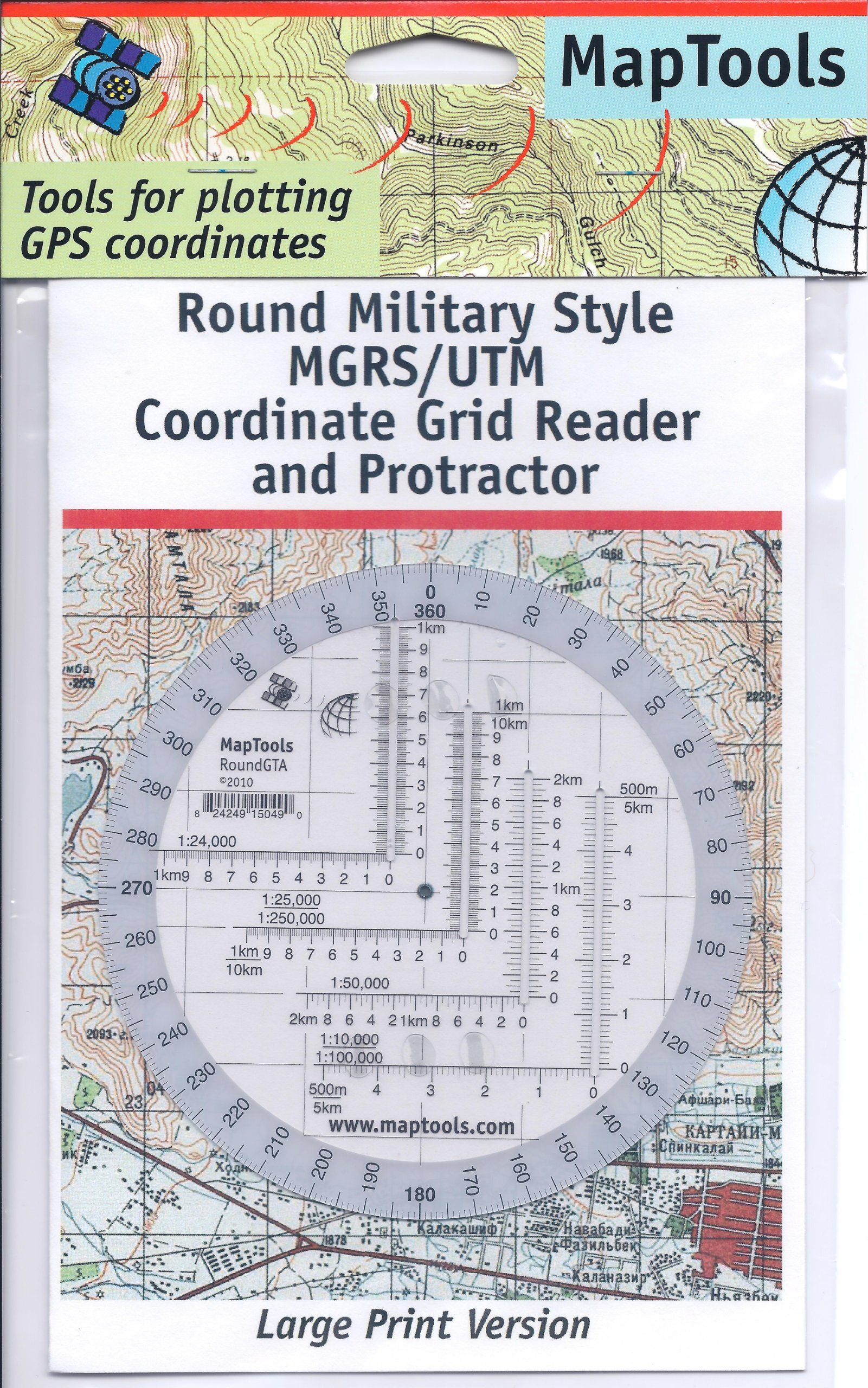 Amazon : Map Tools Round Military Utm/mgrs Grid Reader