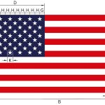 American Flag Size & Proportions Calculator   Inch Calculator