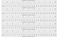 Ho Scale Printable Ruler