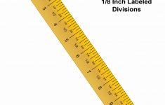 Best Printable Ruler Inches   Dan's Blog