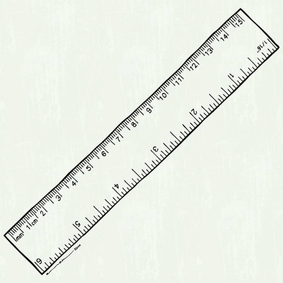 Blank Ruler Templates | Printable Shelter