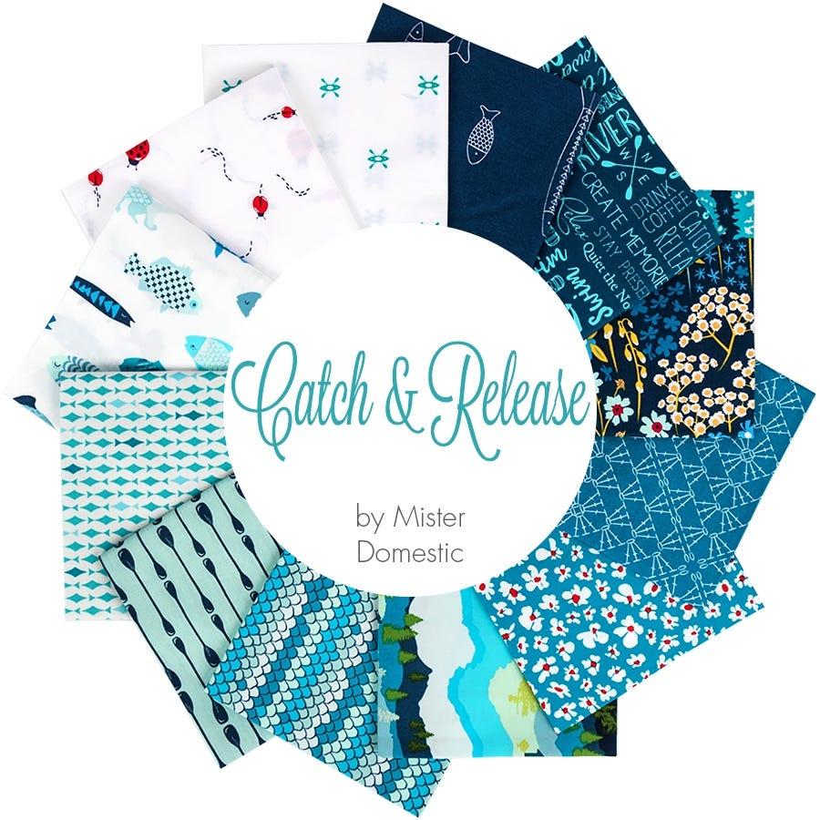 Catch & Release Fat Quarter Bundle | Mister Domestic For Art Gallery Fabrics