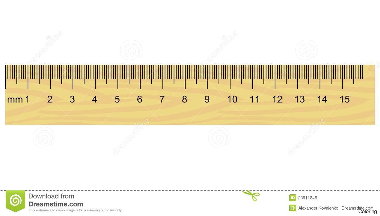 Centimeter Ruler Clipart