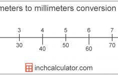 Printable Metric Ruler Mm Cm