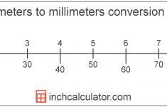 Printable Ruler With Centimeters and Millimeters