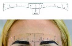 Printable Eyebrow Ruler