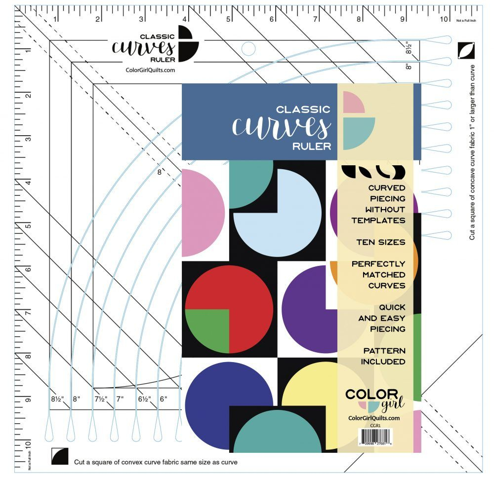 Classic Curves Ruler | Girls Quilts, Tula Pink Fabric, Quilts