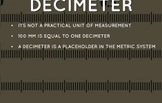 Decimeter Ruler Printable