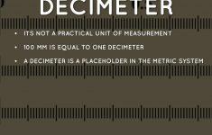 Decimeter Ruler Printable