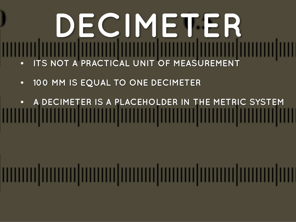 Decimeter - Free Metric Ruler Cliparts, Download Free Clip