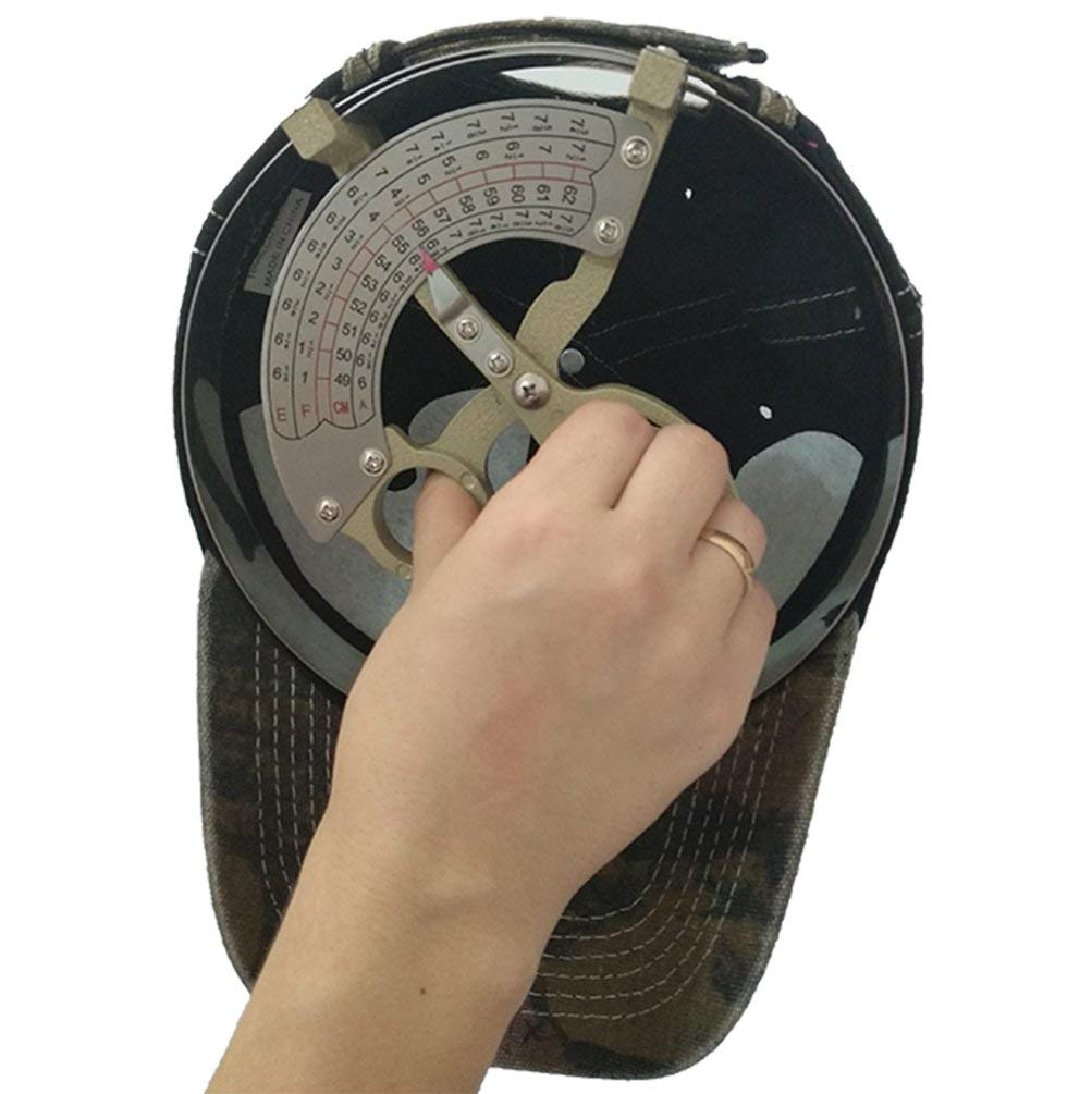 Details About Hat Measuring Tool Size Measure Ruler Stainless Steel Handle  Scale Ruler Sizers