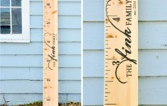 Printable Height Ruler For Wall