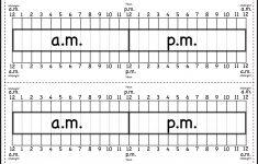Elapsed Time Ruler Printable