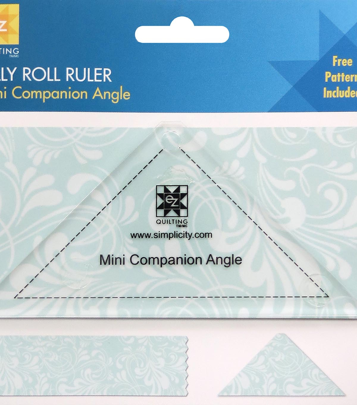 Ez Quilting Mini Companion Angle Jelly Roll Ruler