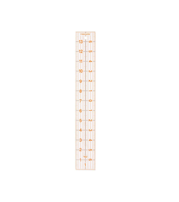 Fiskars 2''x14'' Acrylic Centering Ruler | Ruler, Quilting