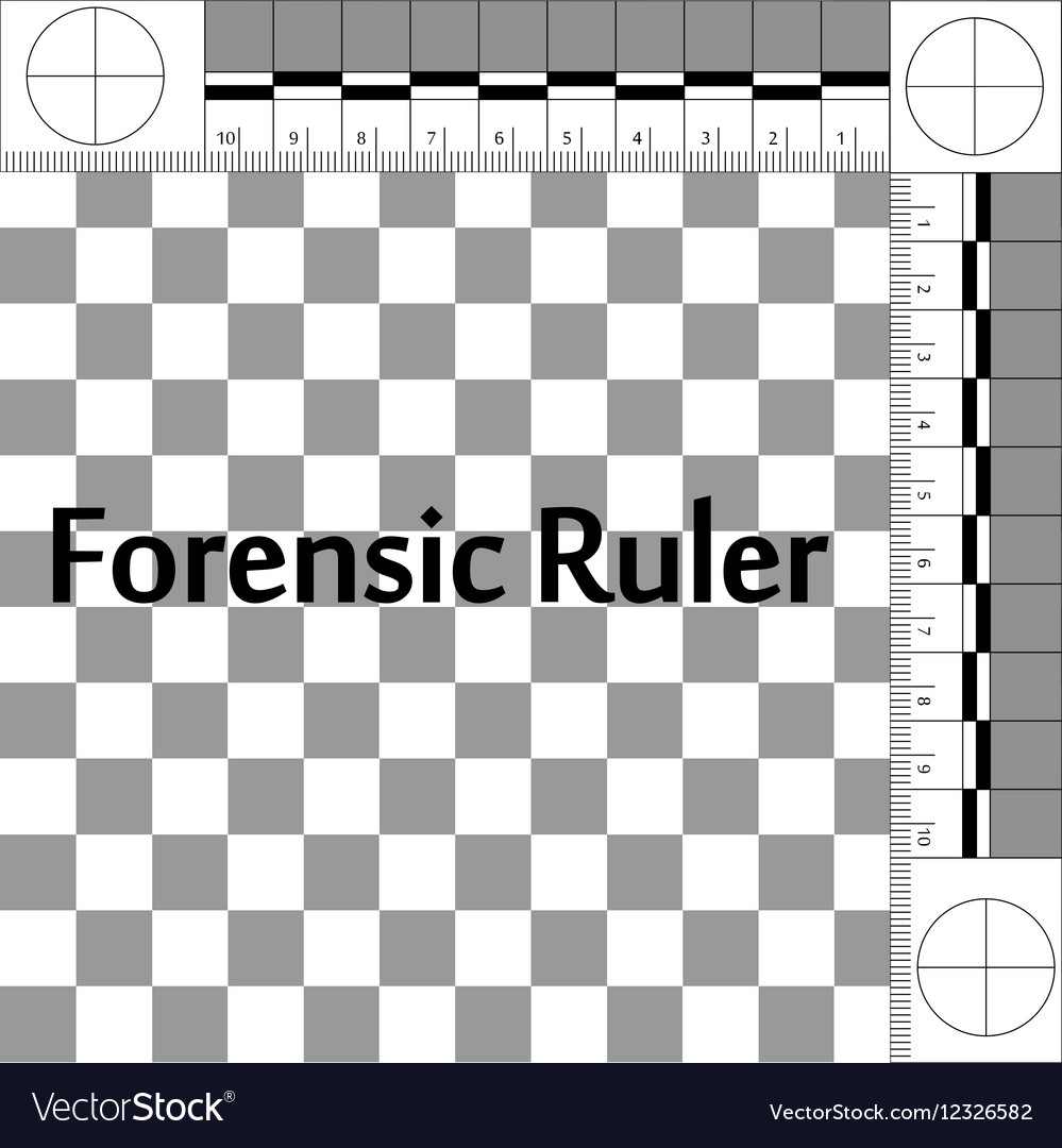 Forensic Ruler Csi