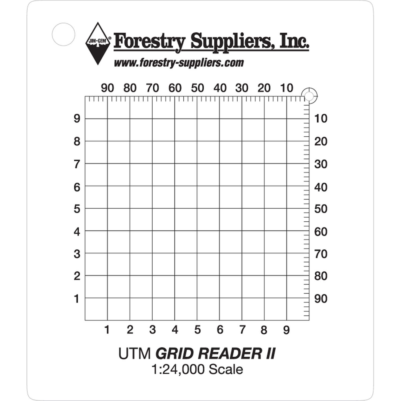 Forestry Suppliers' Utm Grid Reader Ii