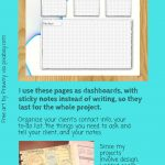 Free Printable Project Insert + 10 Free Planner Printables