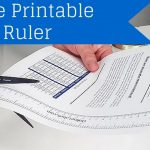 Free Printable Ruler   How To Measure Jar, Bottles And More!