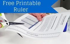 Free Printable Ruler – How To Measure Jar, Bottles And More!
