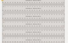 25 Cm Ruler Printable