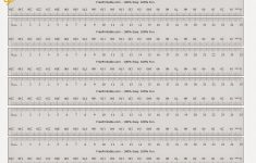 Printable 1 25th Scale Ruler Inches