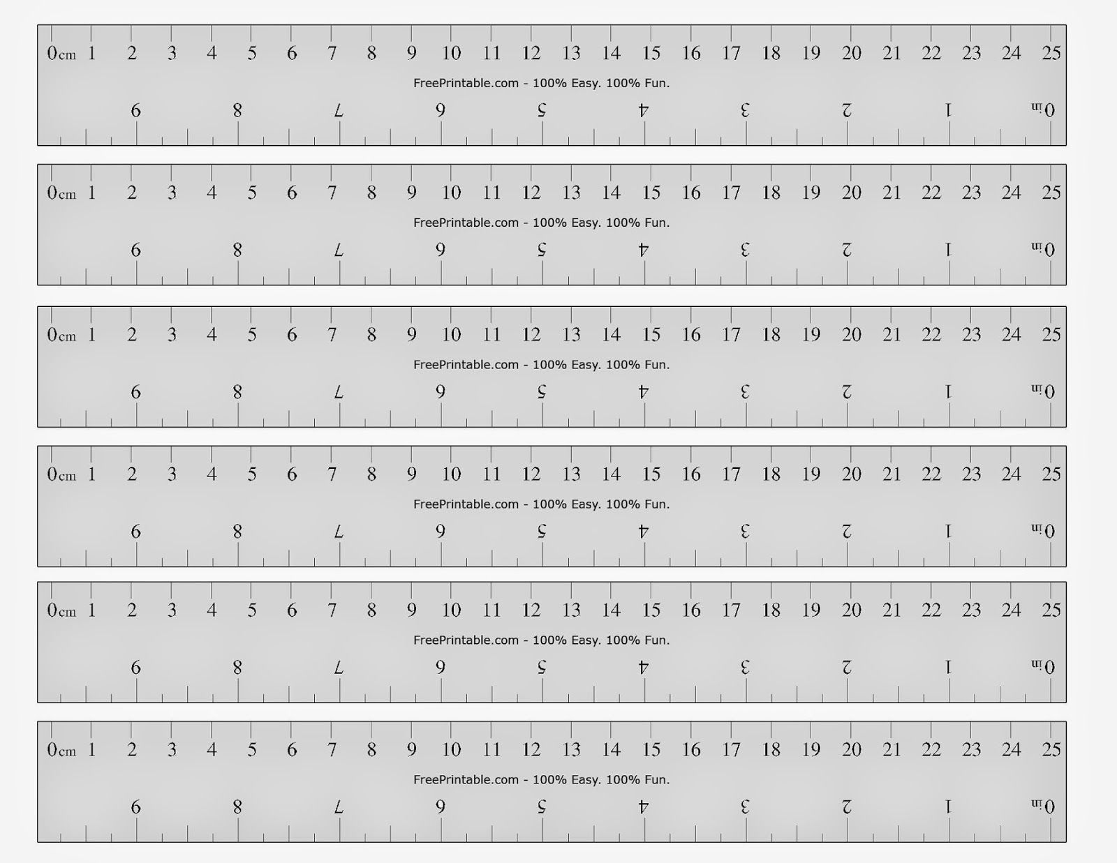 Free Printable Ruler   Printable Ruler, Printable Cards