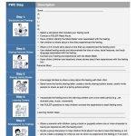 Fwc Steps Worksheet [Preschool]   Feelings Words