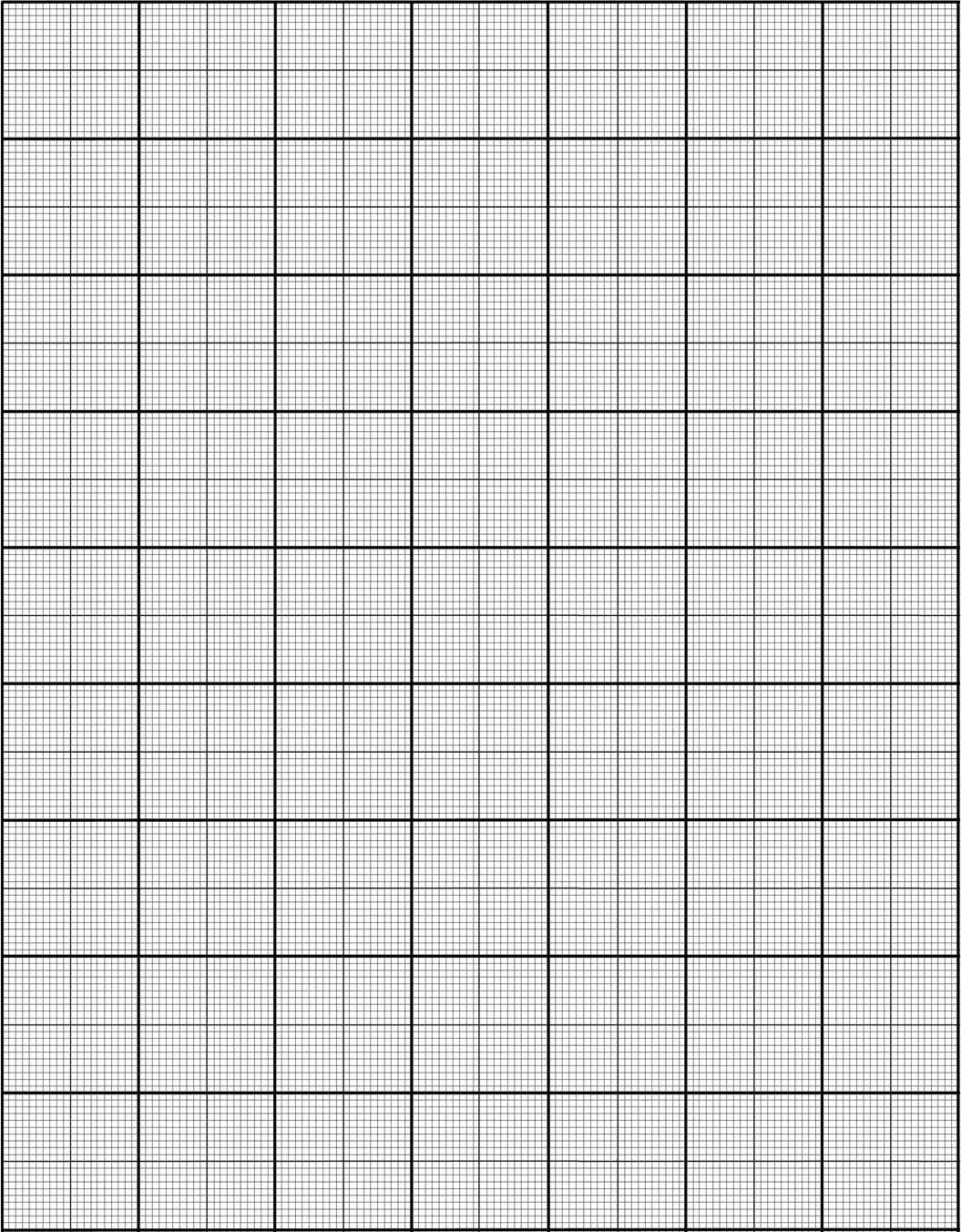 Graph Paper Template 541 | Printable Graph Paper, Graph