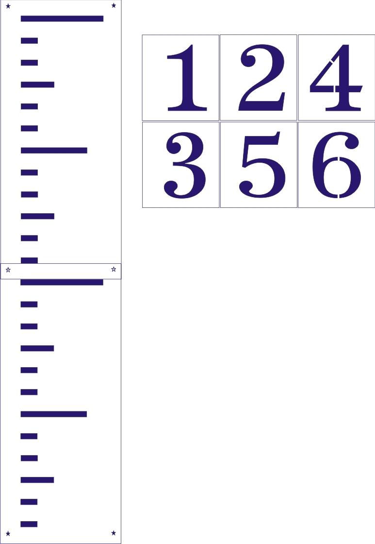 Growth Chart Ruler Clipart
