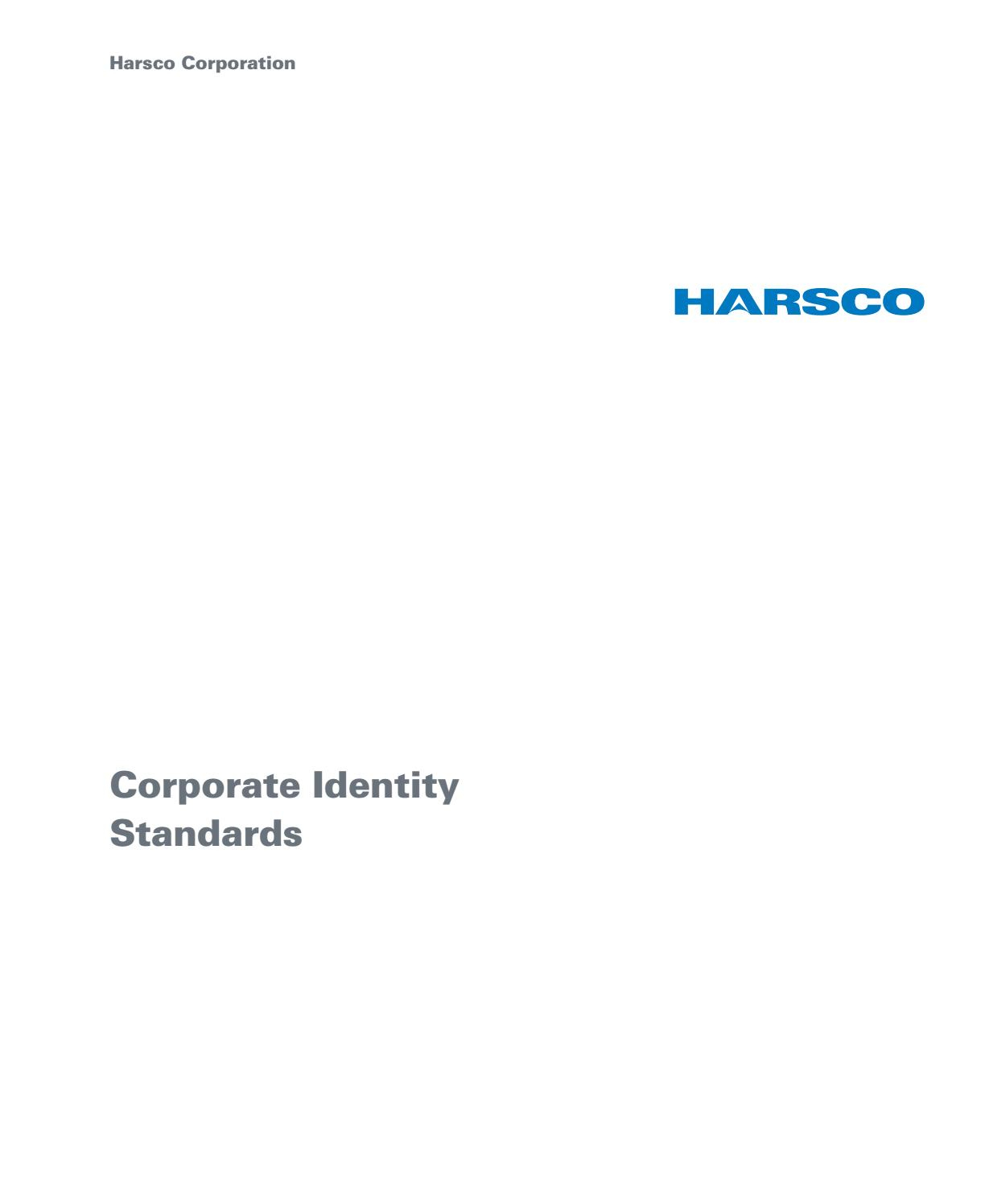Harsco Identity Standards Manualgulzar Hussain - Issuu