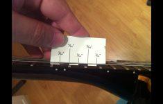 Printable String Action Gauge Ruler
