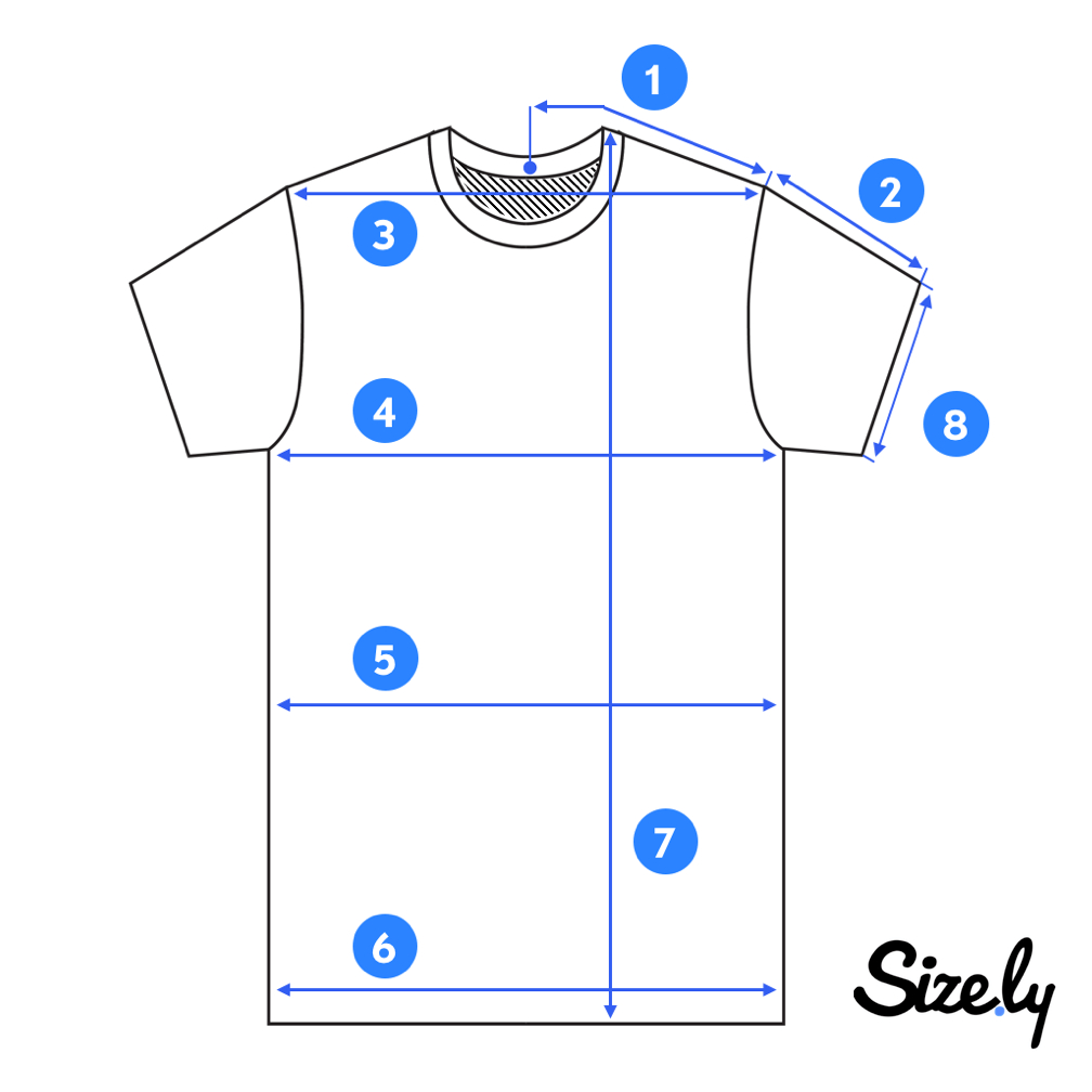 How To Measure A T-Shirt? - Sizely - Medium