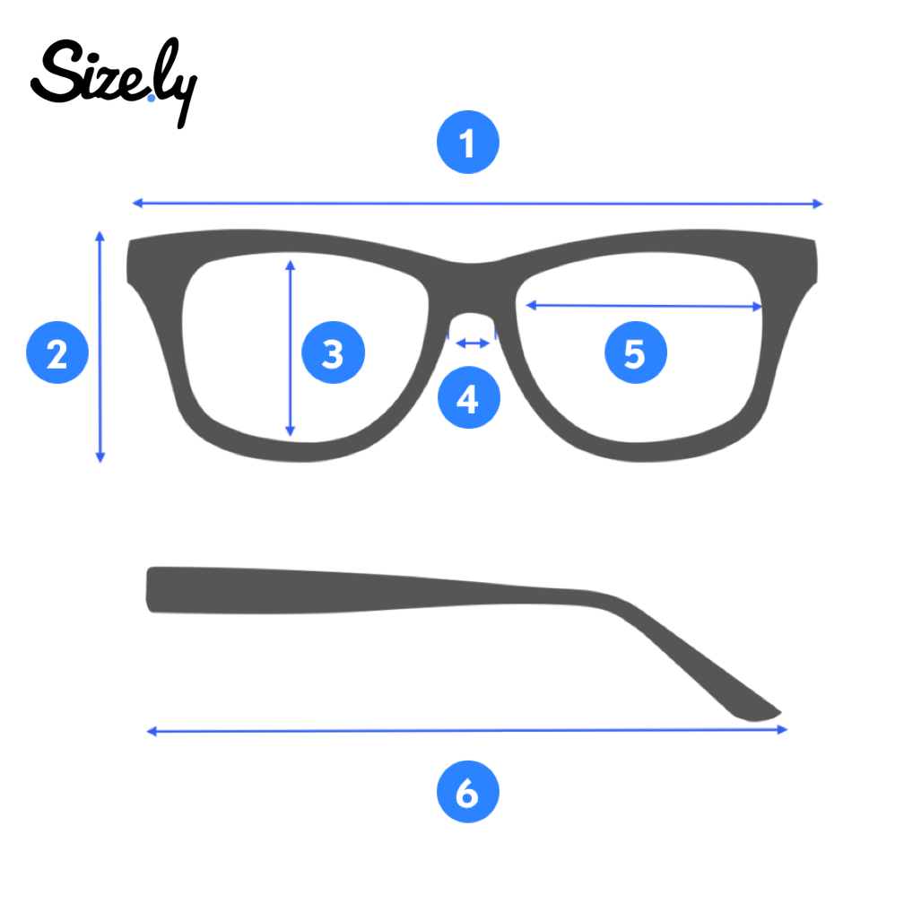How To Measure Glasses? - Sizely - Medium