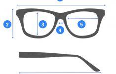 Printable Glasses Ruler