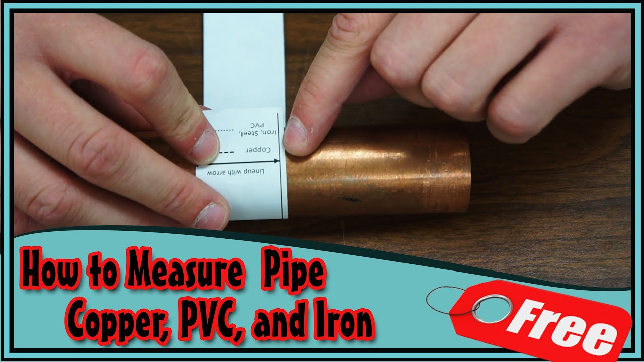 How To Measure Pipe Diameter Size Free Tool Download!