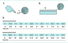 Ring Size Ruler Printable