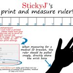 How To Measure Wrist Size Printable For Medical Id Bracelets