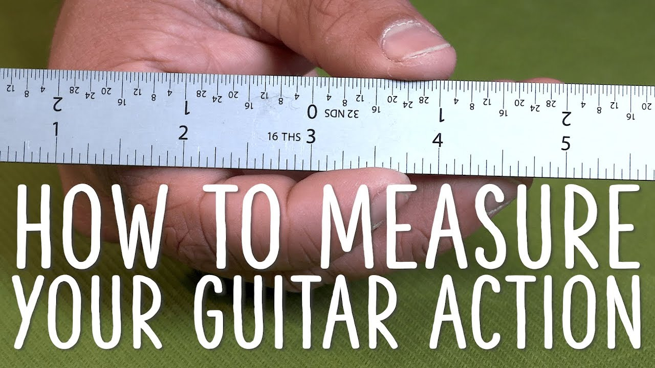 How To Measure Your Guitar's Action Using Stewmac Measurement Tools